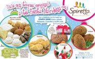 Spirrte comida arabe dulce y salada promociones - 21dic-13