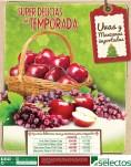 Uvas Manzanas Importadas ofertas SUPER SELECTOS - 31dic13