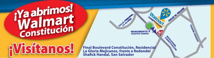 Walmart Constitucion, Mejicanos El Salvador