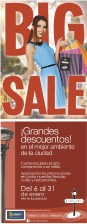 BIG SALE La Gran Via grandes descuentos