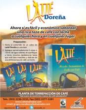 Cafe con leche LATTE Doreñas el salvador - 31ene14