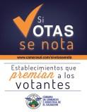 Camara de Comercio e Industria de El Salvador Establecimientos que PREMIAN a los Votantes