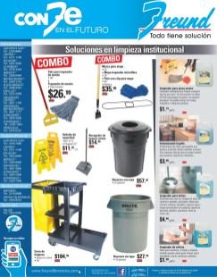 Ferreteria FREUND el salvador ofertas limpieza institucional - 27ene14