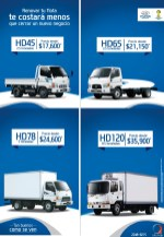 HYUNDAI Trucks savings promociones en camiones