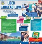 Liceo Ladislao Leiva matricula 2014