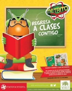 Metrito regresa a clases contigo Promocion Metrocentro