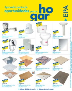 Oportunidades para su hogar EPA el salvador PISOS y LOZAS - 30ene14