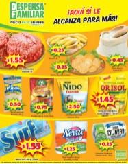 Precios bajos SUPERMERCADO Despensa Familiar ofertas - 04ene14