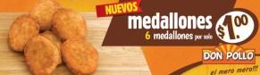 Promocion Medallones DON POLLO - 02ene14