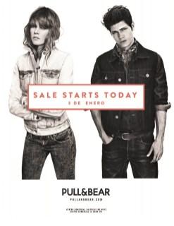 Rebajas SALE STARTS TODAY pull & bear - 03ene14