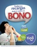 Recargas TIGO promocion bono - 02ene14
