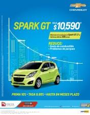 Reducir gasto de combustioble CHEVROLET SPARK 2014 - 07ene14