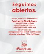 SAMBORNS metrocentro y multiplaza PROMOCION venta especial - 30ene14