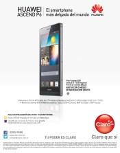 Smartphone mas delgado del mundo HUAWEI Ascend P6 CLARO el salvador