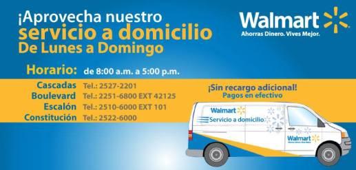 Walmart El Salvador Servicio a domicilio