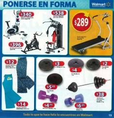 Walmart pesas caminadoras GYM Guia de Compras 2014 No1