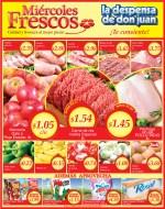 carnes frutas verduras Miercoles Frescos la Despensa de Don Juan - 08ene14