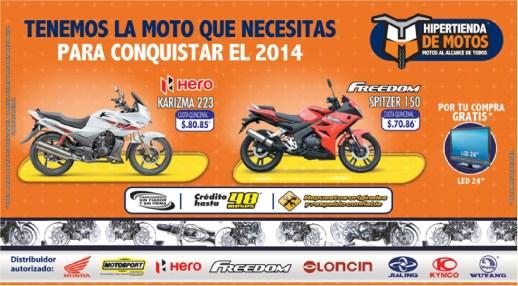 hipertienda de motos HONDA MOTOSPORT FREEDOM - 20ene14