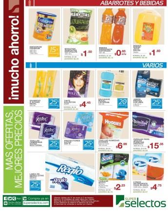 mas Ofertas mejores precios SUPER SELECTOS descuentos -- 31ene14