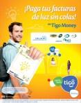 Ahora pago tus facturas de luz TIGO MONEY el salvador - 27feb14