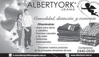 Albert YORK jeans promocion amor y amistad - 13feb14