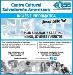 Aprender Ingles e Informatica CCSA el salvador - 27feb14