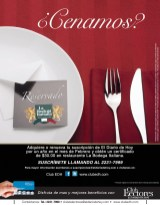 Cenamos en la BODeGA ITALANA promocion Club de lectores - 26feb14