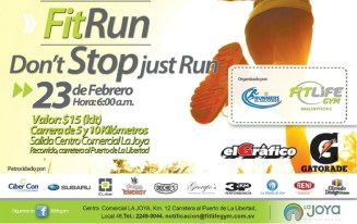 FIT RUN dont stop just RUN