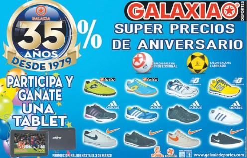 GALAXIA deportes el salvador DESCUENTOS de aniversario - 28feb14