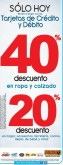 HOY con tarjetas de credito y debito BOMBA descuentos - 25feb14