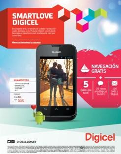 HUAWEI smartphone android system DIGICEL el salvador