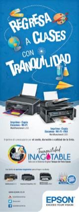Imprime Copia Escanea WIFI EPSON multifuncionales - 28feb14