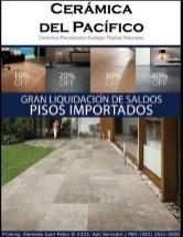 Liquidacion PISOS CERAMICOS IMPORTADOS El Pacifico - 27feb14