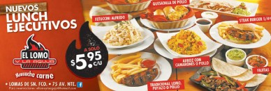 Lunch Ejecutivos EL LOMO Y LA AGUJA - 17feb14