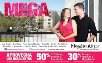 MEGA carigo promociones MEGA BOUTIQUE el salvador - 10feb14
