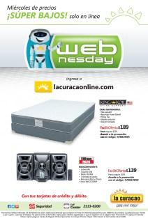 Miercoles de precios BAJOS La Curacao KING KOIL spine support BED - 19feb14