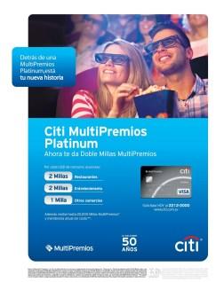 Multi Premios El salvador MILLA Banco CITI - 24feb14