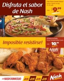 NASH restaurantes el salvador POLLO y PIZZA - 28feb14