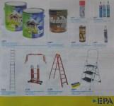 Pinturas aceite brillante barniz silicon escaleras EPA ofertas - feb 2014