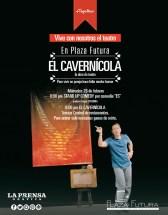 Plaza Futura teatro funciones EL CAVERNIcola - 25feb14