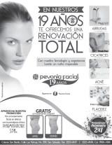 Promocion aniversario 2x1 PEVONIA FACIAL el salvador - 19feb14
