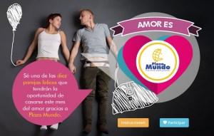 Promocion san valentin AMOR ES Plaza Mundo Soyapango