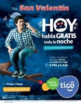 Promociones SAN VALENTIN hablar gratis toda la noche - 05feb14