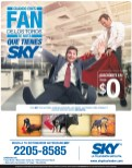 SKY la television satelital FAN - 10feb14