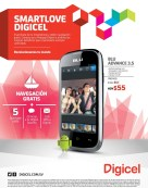 SMARTPLOVE Digicel el salvador BLU Advance 3.5 ANDROID - 24feb14