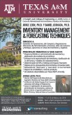 TEXAS A&M engineering INVENTORY MANAGMENT