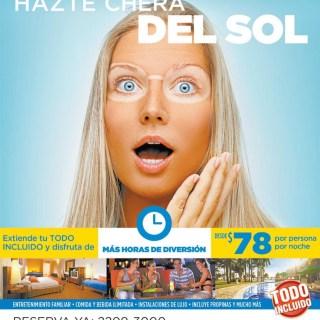 TODO incluido hazte chera del sol DECAMERON salinitas el salvador - 24feb14