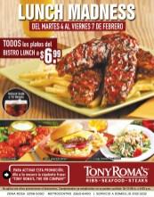 TONY ROMAS el salvador BISTRO LUNCH - 04feb14