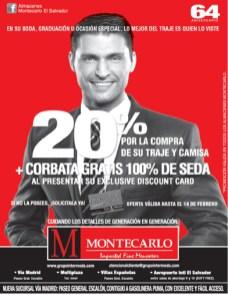 caballero guapo viste trajes MONTECARLO - 06feb14