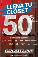 llena tu closet DESCUENTO sportline america